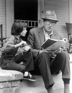 Gregory Peck and Mary Badham